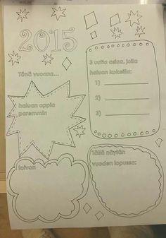 Vuositaulupohja Educational Activities, School Ideas, Classroom Ideas, Teaching Materials, Classroom Setup, Classroom Themes