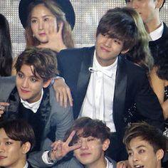 Baekhyun and V ❤️