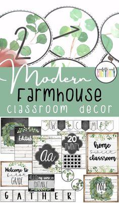 Modern Farmhouse Classroom Theme Decor