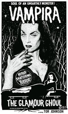 Vampira by Drew Friedman