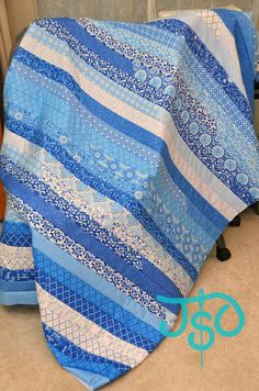 JustSewOlivia: Tutorial: Basic Jelly Roll Quilt - QuiltWest