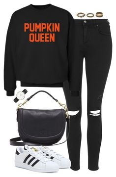 """Untitled #4875"" by eleanorsclosettt ❤ liked on Polyvore featuring Topshop, CO, Mulberry, adidas, Daniel Wellington and Forever 21"