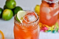Strawberry Margarita - sounds yummy!