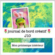 La parenthèse inattendue Journal de bord créatif🌷J10 ✨Mon printemps intérieur ✨mandala ✨ acrostiche ✨
