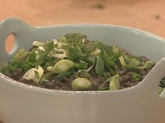 Make your own Black Refried Beans - very easy Rachel Ray recipe