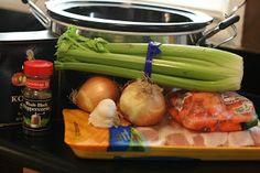 matzo ball soup ingredients crockpot365.blogspot.com