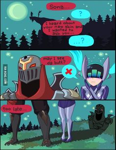 That's too smart for your own good, Zed. #Leagueoflegends