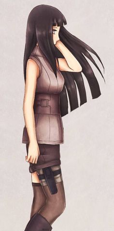 How Hinata Hyuga will look like in THE LAST: NARUTO THE MOVIE