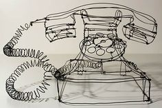 Wire Sculpture by Martin Senn