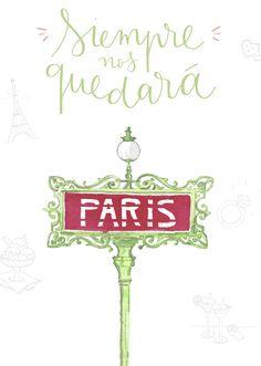 Esta no es una guía de París cualquiera, es una guía ilustrada #mrwonderfulideas #guide #paris