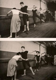 """Eartha Kitt teaching James Dean how to dance, early 1950s Photo by Dennis Stock.""""He said to me, 'I want to move like you, can you teach me how to move my body like you do on stage?' And I told him where to meet me, here in New York and that's where we met for dance classes. And that's where Jamie and I always met downstairs from that studio to have coffee, to have our little tete-a-tete conversations.He was like my brother. He had something in him that he didn't understand.... -Eartha Kitt"""