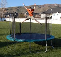 Exterior: Gorgeous 12' Trampoline Pad Replacement from Why Choosing A 12 Trampoline Is Right