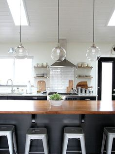 Best Pendant Lighting Images On Pinterest Farmhouse Kitchen - Black kitchen pendants