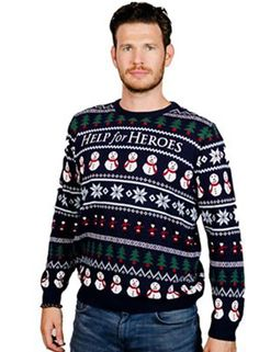 mens fashionable christmas jumpers