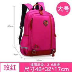 e3a69239b Waterproof Backpack Children School Bags Girls Boys Cartoon Kids satchel  backpacks schoolbags Primary school Backpack sac enfant