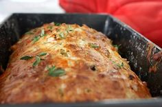 Cheese, Olive and Buttermilk Herb Bread (soak in buttermilk first?)