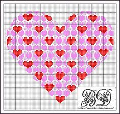 ♥ cross stitch patt