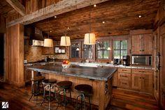 14 - Park City, Utah Residence - traditional - kitchen - salt lake city - Magleby Construction