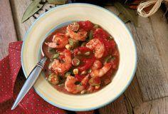 Basic Seafood Gumbo with Classic Herbs and Okra: Seafood Gumbo