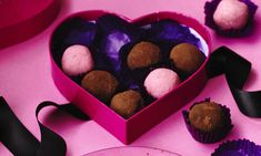 Recipes for your sweetheart: Boozy chocolate and almond truffles