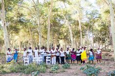 Pafuri Bush weddings with the local choir Kruger National Park, National Parks, Bush Wedding, Trail Guide, Choir, The Locals, Safari, Dolores Park, Africa