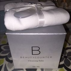 Beauty Counter Cleansing Balm with Linen Washcloth This is a must have!  Comes with a 1.5 oz jar of the cleansing balm, a linen washcloth and a plastic spatula. Sephora Makeup