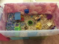 My little hamster named Chica is there! This is an original photo by Hamster Bin Cage, Hamster Life, Hamster Toys, Hamster Stuff, Pig Stuff, Hamster Names, Hamsters As Pets, Pet Rodents, Cute Hamsters
