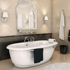 Find, Shop for and Buy Maax 100084-000-001 Freestanding Soaker Tub with Apron at QualityBath.com for $3,246.60 with free shipping!