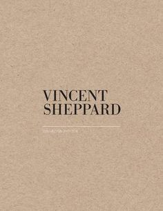 Indoor catalogue 2017-2018 (Vincent Sheppard & Atelier N/7)  Discover our indoor collections 2017-2018