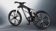 Audi Wörthersee e-bike - they should totes sell these!?