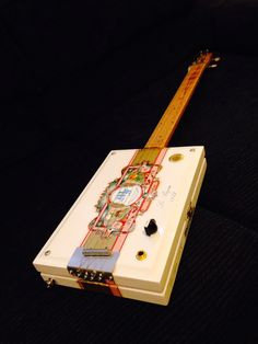 4 string  Cigar box guitar by Bluesboy Jag Get yours at http://www.jagshouse.com/cigarboxguitars.html #cbg #cigarboxguitar #blues  #guitar #electricguitar #slideguitar #guitarlessons #guitarplayer #bluesboyjag