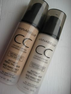Review: Annabelle CC Instant Perfecting Base in Natural Finish @Cosmétiques Annabelle Cosmetics