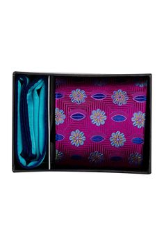 Olivia Botanical Silk Tie & Pocket Square Set