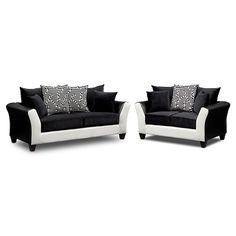 Ibiza Upholstery 2 Pc. Living Room | Furniture.com $594.98