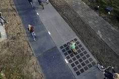 The world's first solar-powered bike path is generating more energy than expected | Inhabitat - Sustainable Design Innovation, Eco Architecture, Green Building