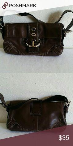 Authentic Coach handbag Brown leather authentic Coach handbag Coach Bags Totes