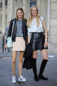 French teen style