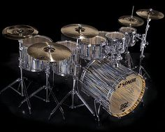 Sonor SQ2 Stratawood these are cool......would love to see a Gretsch or Pearl version