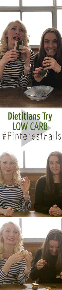 Dietitians Try Low-Carb Pinterest Fails | Abbey's Kitchen