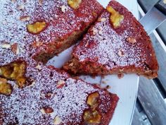 Κέικ με Μήλα-χωρίς μίξερ νηστίσιμο Brownie Bar, Apple Cake, French Toast, Breakfast, Food, Brownies, Morning Coffee, Cake Brownies, Essen