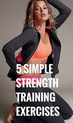 5 Simple and Effective Strength Training Exercises Training Exercises, Strength Training Workouts, Love Fitness, Fitness Tips, Mold Exposure, Health And Wellness, Health Fitness, Best Weight Loss, Lose Weight