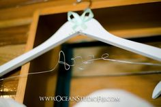 Personalised coat hangers