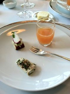 Amuse bouche from Jean Georges #NYC