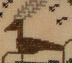 Zigzag+deer.jpg 391×342 pixels