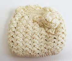 Crochet Makeup Pouch by SoftsideCrochet on Etsy