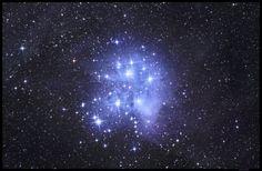 Messier Object 45: Pleiades Star Cluster Photo Credit: Fotis Rizos