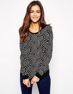 Only Optical Sweatshirt