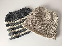 Crochet Ponytail or Messy Bun Hat... free Ravelry pattern