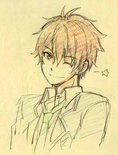 pixiv ist ein I Boy Drawing, Manga Drawing, Manga Art, Manga Anime, Anime Chibi, Anime Drawings Sketches, Anime Sketch, Cute Drawings, Wie Zeichnet Man Manga