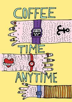 Hora del cafe.